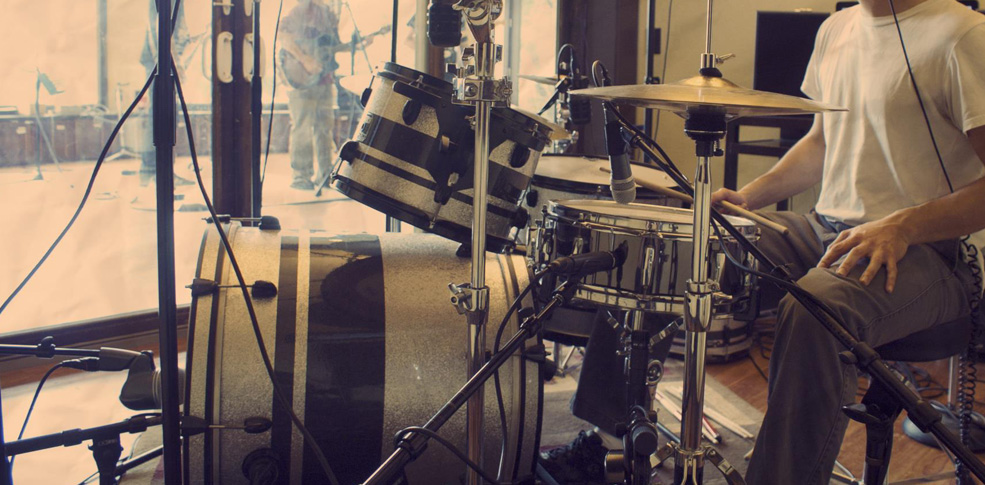 Great sounding drum room